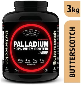 Sinew Nutrition Palladium Whey Protein With Digestive Enzymes 3kg (Buttersctoch)