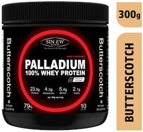 Sinew Nutrition Palladium Whey Protein With Digestive Enzymes 300g (Butterstoch)