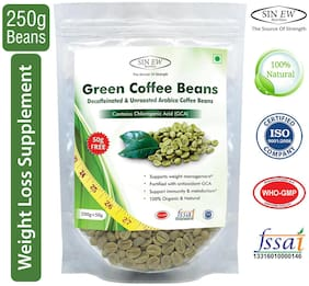 Sinew Nutrition Green Coffee Beans 200 g + 50 g Free (250 g X 1 pc.)
