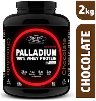 Sinew Nutrition Palladium Whey Protein With Digestive Enzymes 2 kg (Chocolate)