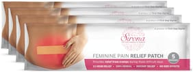 SIRONA - Feminine Pain Relief Patches - 20 Patches (4 Pack - 5 Patches Each)