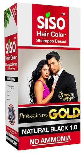Siso Premium Gold 5 Minute Hair Color 200g