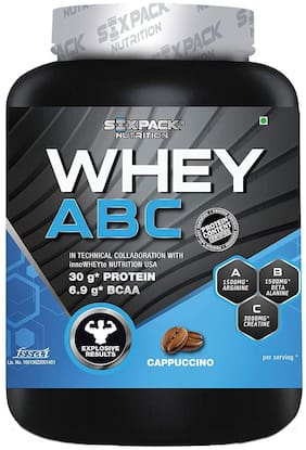 Six Pack Nutrition Whey Abc L Arginine Beta Alanine Creatine Monohydrate - Cappuccino - 2Kg