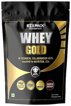 Six Pack Nutrition Whey Gold Choco Fantasy 4kg (125 servings)