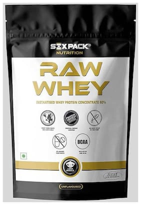 Six Pack Nutrition Raw Whey 1 kg (33 Servings)
