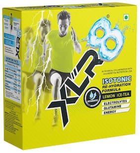 XLR8 Isotonic Re-Hydration Instant Formula Extended Workout Electrolyte Energy Drink - 1 Kg (Lemon Ice-Tea)