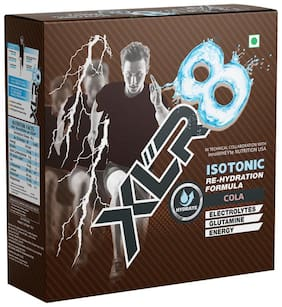 XLR8 Isotonic Re-Hydration Instant Formula Extended Workout Electrolyte Energy Drink - 1 Kg (Cola)