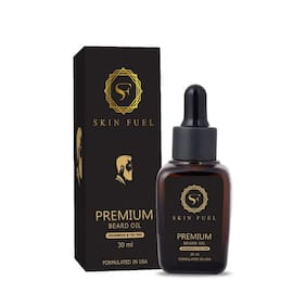 SKIN FUEL Premium beard growth oil;USA FORMULATED;30 ml