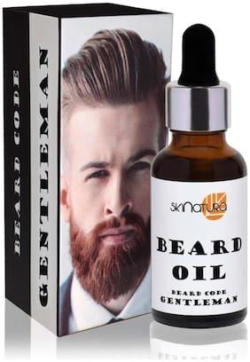 Skinatura Beard Oil [Beard Code : Gentleman] Hair Oil ,30ml (Pack of 1)