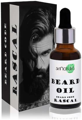 Skinatura Beard Oil [Beard Code : Rascal] Hair Oil ,30ml (Pack of 1)