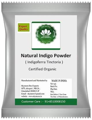 SkyMorn Indigo Powder 100% Organic and Natural (1 Packet) (400 g)