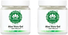 SkyMorn Pure Organic 100% Pure Aloe Vera Gel 200gm(Pack of 2)