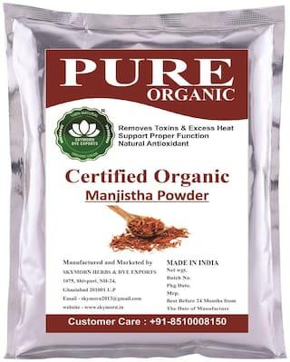 SkyMorn Pure Organic Manjistha Root Powder   Rubia Cordifolia (Indian Maddar) 100 gm