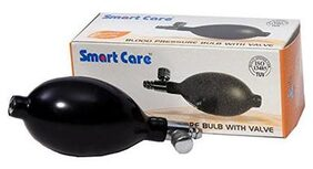 SMART CARE B.P MONITOR BULB WITH VALVE LATEX
