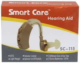 Smart Care Sc115 Behind-The-Ear Sound Enhancement Amplifier (Beige)