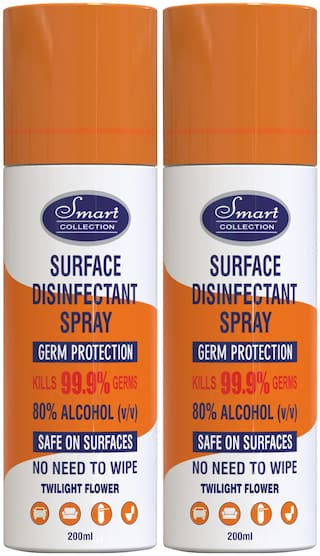 Smart Collection Surface Disinfectant Spray 200ml (Pack of 2)