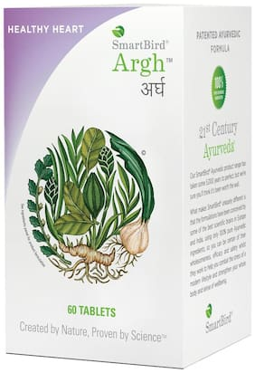 SmartBird Argh ayurvedic tablets for healthy heart and lipid care