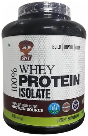 SNT 100% Whey Protein Isolate - 1.81 kg (4 lb) - Strawberry Flavour