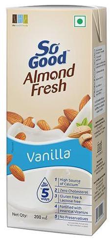 So Good Drink - Almond Fresh  Vanilla 200 Ml