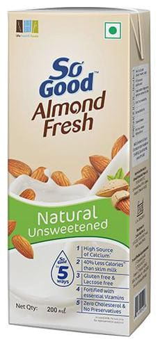So Good Drink - Almond Fresh Natural 200 ml