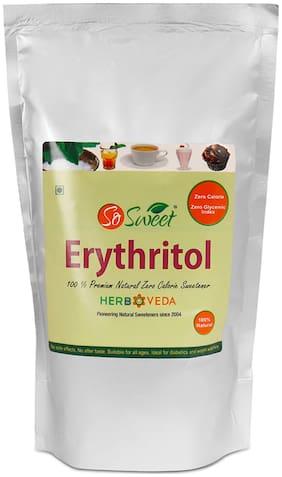 So Sweet Erythritol Natural Sweetener Sugarfree 1 kg (Pack of 1)