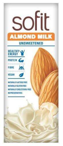 Sofit  Almond Milk - Unsweetened 200 ml