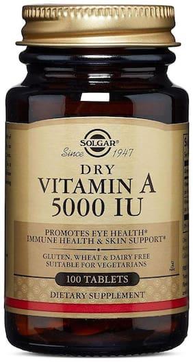 Solgar Multivitamins Dry Vitamin A 1500 mcg 100 Tablets