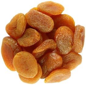 Sorich Organics Dried Apricot - 400 Gm (Unsulphured, Unsweetened and Naturally Dehydrated Fruit)