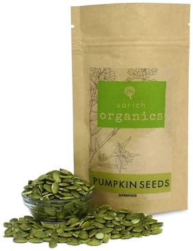 Sorich Organics Pumpkin Seeds - 200 g - Protein and Fibre Rich Superfood