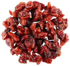 SorichOrganics Naturally Dried Sliced Cranberries - 200 Gm (Unsulphured, Unsweetened and Naturally Dehydrated Fruits)