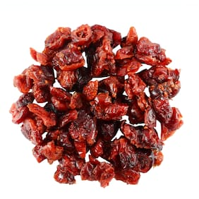 SorichOrganics Naturally Dried Sliced Cranberries - 400 Gm (Unsulphured, Unsweetened and Naturally Dehydrated Fruits)