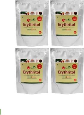 SoSweet Erythritol Natural Sweetener Sugarfree 250 g (Pack of 4)