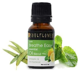 Soulflower Breathe Easy Essential Oil 15 ml