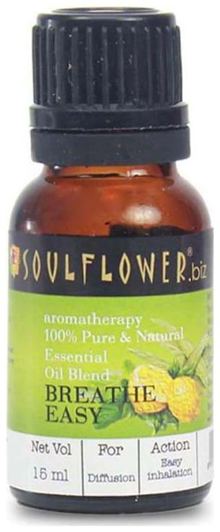 Soulflower Breathe Easy Essential Oil 15 ml