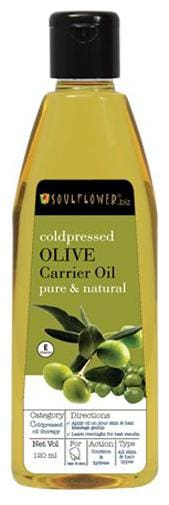 Soulflower Coldpressed Olive Carrier Oil 120 ml