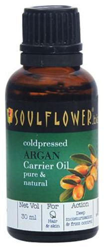 Soulflower Coldpressed Argan Carrier Oil 30 ml