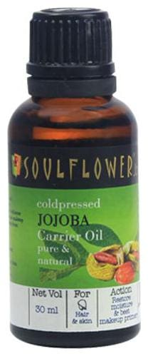 Soulflower Coldpressed Jojoba Carrier Oil 30 ml