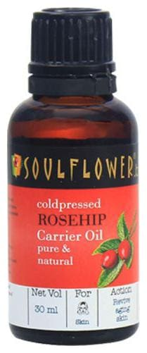 Soulflower Coldpressed Rosehip Carrier Oil 30 ml