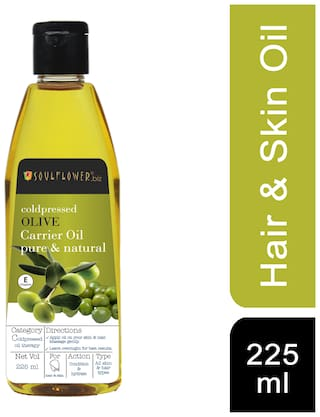 Soulflower Coldpressed Olive Oil 225 ml