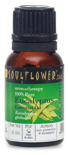 Soulflower Eucalyptus Essential Oil 15 ml