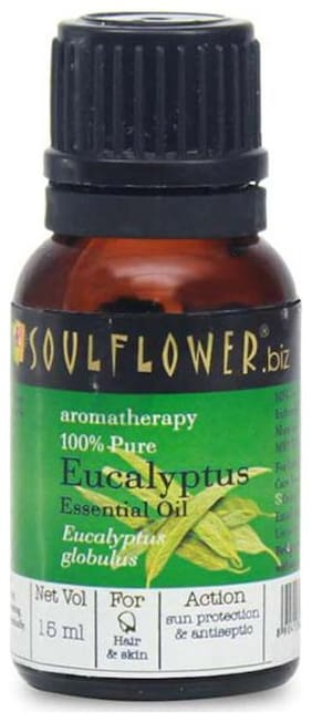 Soulflower Essential Oil Eucalyptus