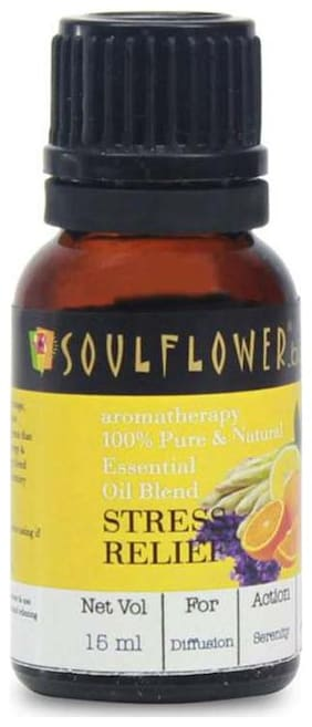 Soulflower Essential Oil Stress Relief