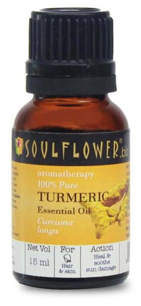 Soulflower Essential Oil Turmeric
