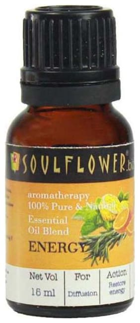Soulflower Energy Essential Oil  15ml