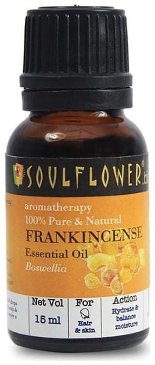 Soulflower Frankincense Essential Oil  15Ml