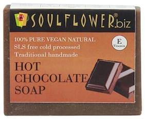 Soulflower Hot Chocolate Soap 150 gm