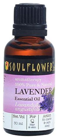 Soulflower Lavender Essential Oil 30 ml