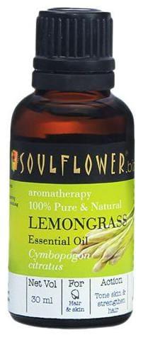 Soulflower Lemongrass Essential Oil 30 ml