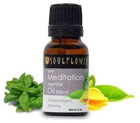 Soulflower Meditation Essential Oil 15 ml