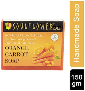 Soulflower Orange Carrot Soap 150 g